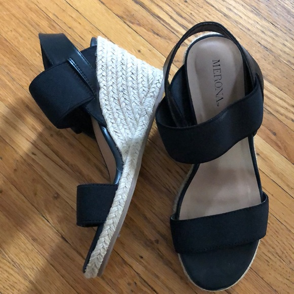 b3d6da83eb Merona Shoes | Espadrille Wedges | Poshmark